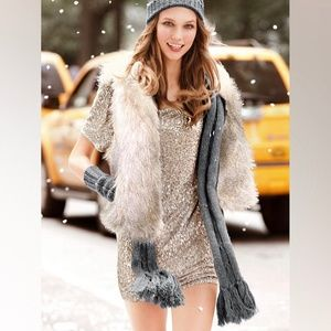 Victoria Secret Supermodel Essentials sequin dress